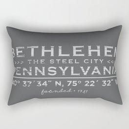 Bethlehem, Pennsylvania Rectangular Pillow