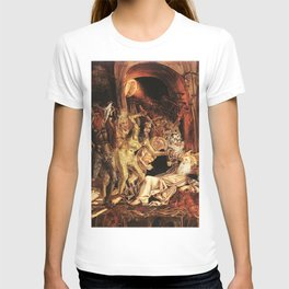 Demons attack!! T-shirt