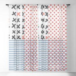 AMERICA Sheer Curtain