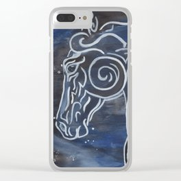 Horse and Stardust Clear iPhone Case