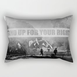 Stand up for your rights! Rectangular Pillow