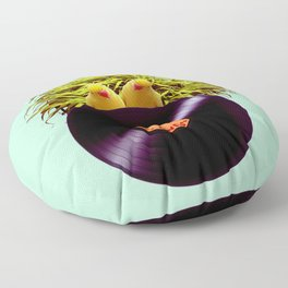 Summer Sound System Floor Pillow