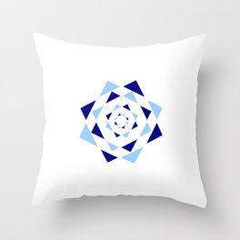 Star of David 36- Jerusalem -יְרוּשָׁלַיִם,israel,hebrew,judaism,jew,david,magen david Throw Pillow