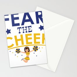 Cheerleader Cheerleading Gift Dance Football Stationery Cards