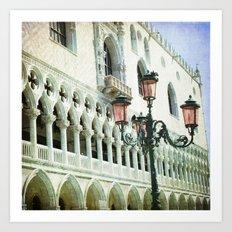 Lampione - Venice Art Print