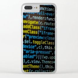 Code Master (Color) Clear iPhone Case