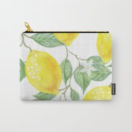 Sweet Spring Lemons Carry-All Pouch