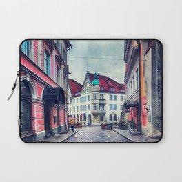 Tallinn art 11 #tallinn #city Laptop Sleeve