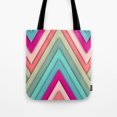 triangles pop Tote Bag
