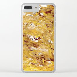 yolk Clear iPhone Case