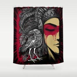 Winya No. 33 Shower Curtain
