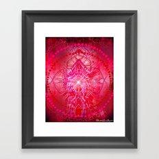 Muladhara - Chakra 1 Framed Art Print
