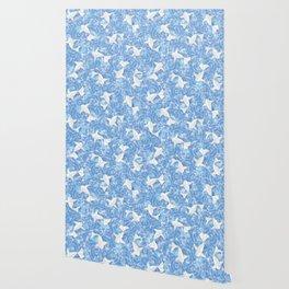 Origami Koi Fishes (Sky Pond Version) Wallpaper
