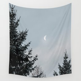Half Moon | Nature and Landscape Photography Wall Tapestry
