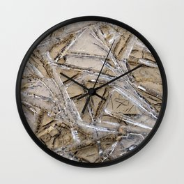 Shattered Perspective Wall Clock