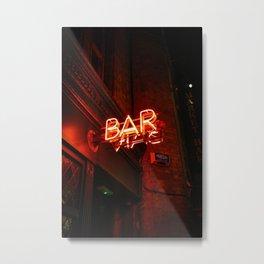BAR (Color) Metal Print