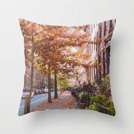 Autumn NYC Throw Pillow