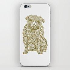 Mandala Pug iPhone Skin