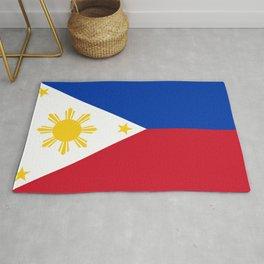 Philippines national flag Rug