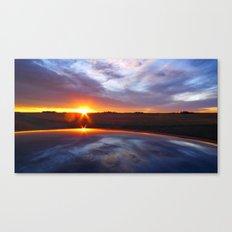 'Prarie Sunrise' Canvas Print