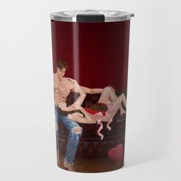chesterfield & chocolate Travel Mug