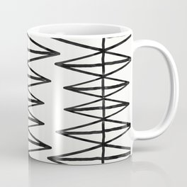 Stairs - Monochrome Modern Abstract Coffee Mug