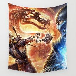 MK Game Logo Wall Tapestry