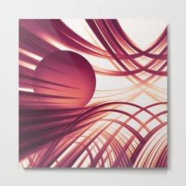 Abstract 187 Metal Print