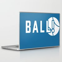 dragon ball Laptop & iPad Skins featuring BALL! by TheBluPup