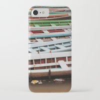 boats iPhone & iPod Cases featuring Boats by BTP Designs
