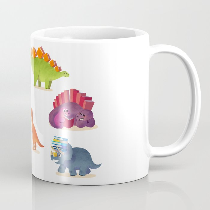 BOOK DINOSAURS Coffee Mug