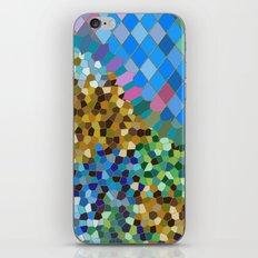 GAUDI INSPIRED (abstract mosaic) iPhone & iPod Skin