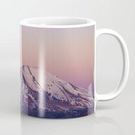 Mount Saint Helens at dusk Coffee Mug