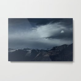 We wanted to sleep in the mountains Metal Print