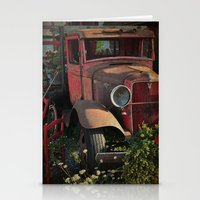 truck Stationery Cards featuring Maude's Truck by Curt Saunier