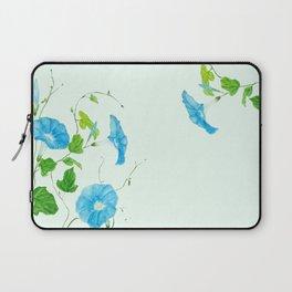 blue morning glory Laptop Sleeve