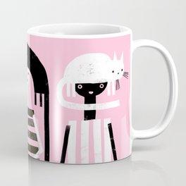 PINK BLACK & WHITE Coffee Mug