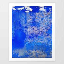 Lisbon blue #1 Art Print