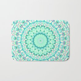 ARABESQUE SPRING MINT Bath Mat