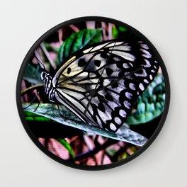 Butterfly Fab Wall Clock