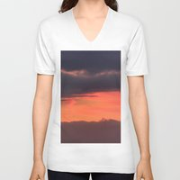 bands V-neck T-shirts featuring Sunrise bands by IowaShots