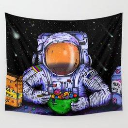 Astronaut's Breakfast Wall Tapestry