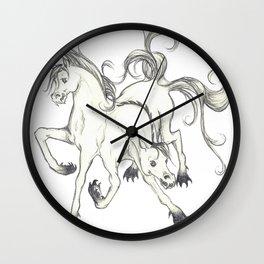 horse of DOOM Wall Clock