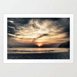Thailand Sunset Art Print