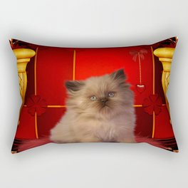 Cute little kitten Rectangular Pillow