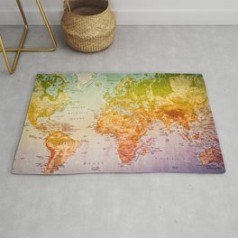 Colorful World Rug