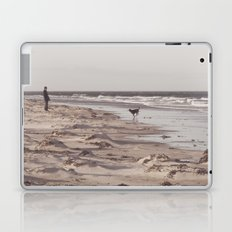 there's a man on the shoreline... Laptop & iPad Skin
