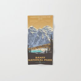 Banff National Park Hand & Bath Towel