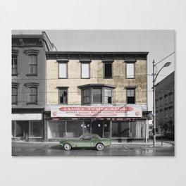 Vintage Thrift Shop Canvas Print