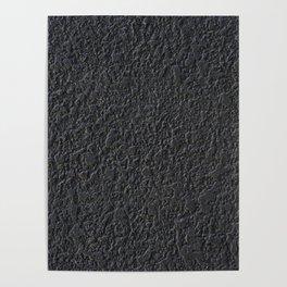 black pattern Poster